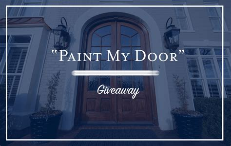 Front Door Giveaway - mccamy construction s quot paint my door quot giveaway mccamy construction