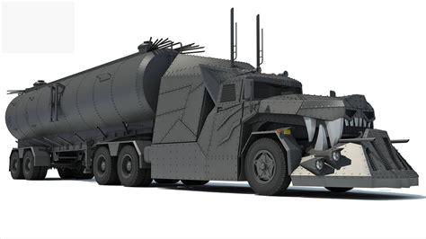 concept semi truck concept truck 3d model