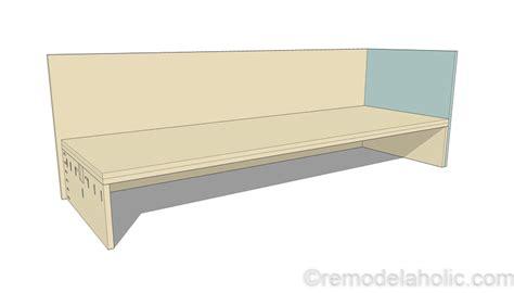plywood sofa plans diy outdoor sectional sofa tutorial building plan