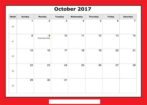 printable calendar october 2017 october 2017 calendar printable
