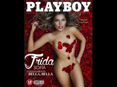 frida sofia play boy descargar revista play boy febrero 2015 frida sofia youtube