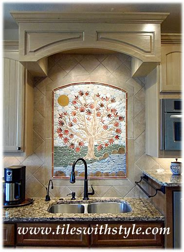 Tiles with Style    100% custom ceramic kitchen tiles