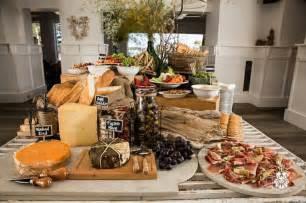 wedding reception with food stations wedding food station buffets