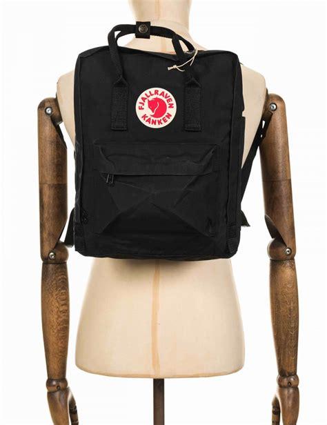 Visval Soka Black Vintage Ransel Backpack fjallraven kanken classic backpack black fjallraven