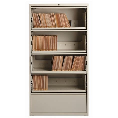 5 drawer lateral file cabinet file in putty 17901