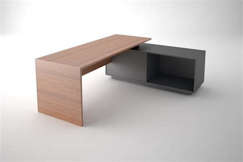 Simple Office Desks 3ds Simple Office Desk
