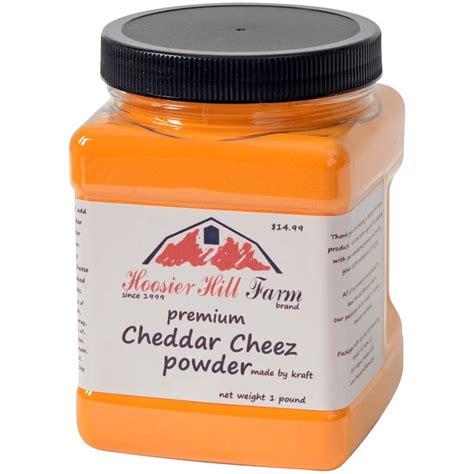Cheese Powder Cheddar Cheese Powder By Hoosier Hill Farm 1 Lb Walmart