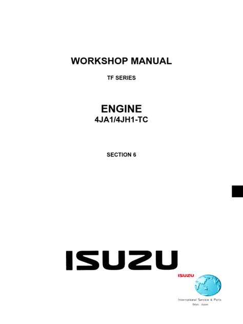 small engine repair manuals free download 1992 isuzu impulse electronic valve timing manual motor 4ja1 turbocharger engines
