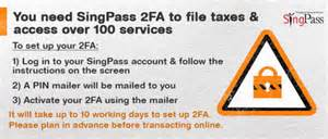 reset singpass online filing taxes on the go via mobile phone among new features