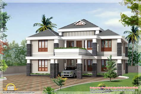 latest home design trends 2012 in kerala trendy 4 bedroom kerala house design 3080 sq ft