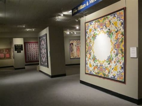 learning quilting at the national quilt museum in kentucky