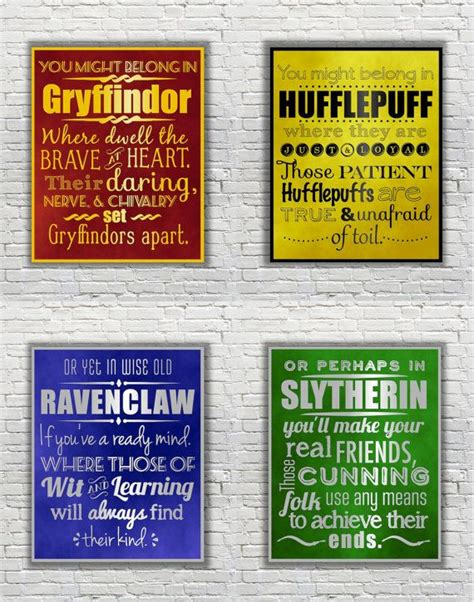 characteristics of harry potter houses ravenclaw sorting hat quotes quotesgram