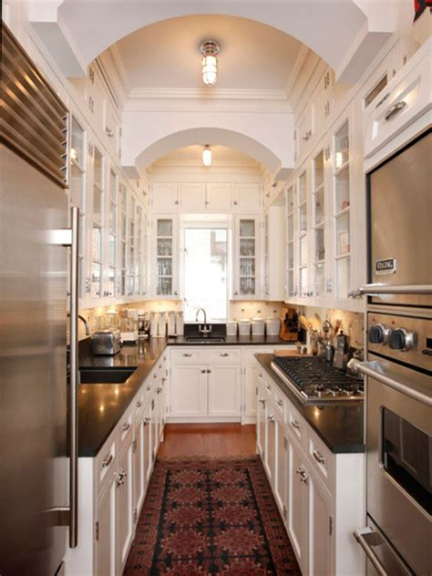 Narrow Galley Kitchen Designs Galley Kitchen Inspirations Functional Considerations Apartment Therapy