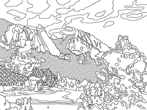 Mineral Coloring Pages