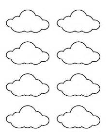 printable clouds templates 25 best ideas about cloud craft on rainbow