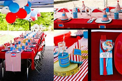 carnival themed birthday decorations ideas carnival themedpartyworks