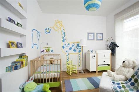 Kinderzimmer Junge Wandgestaltung Blau by Farb Und Wandgestaltung Im Kinderzimmer 77 Tolle Ideen