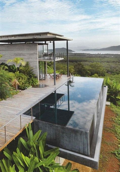 home infinity pool the infinity pool house exterior accents pinterest