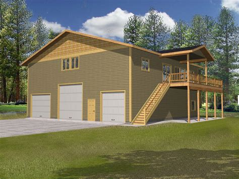 awesome hillside house plans with garage underneath
