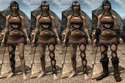 skyrim unp clothing maxwell outfit unp recolor brown at skyrim nexus mods