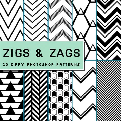 Zig Zag Pattern For Photoshop | zigs and zags photoshop patterns patterns on creative