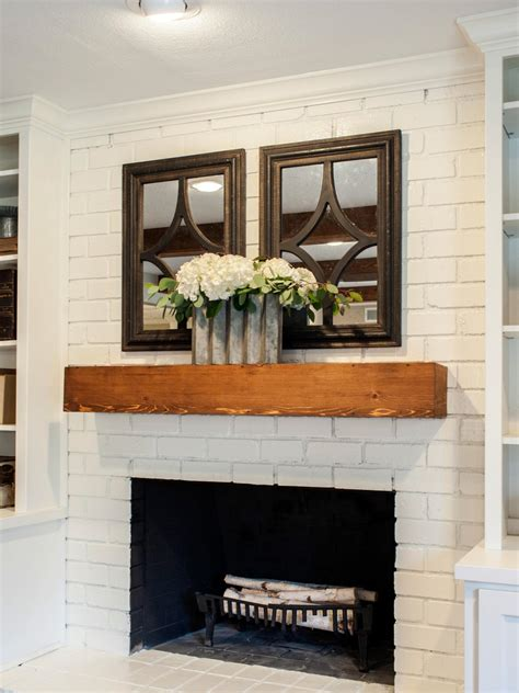 hot fireplace design ideas hgtv 15 gorgeous painted brick fireplaces hgtv s decorating