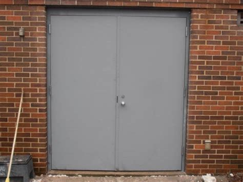 Exterior Steel Doors And Frames Door Frame Steel Frame Door Installation