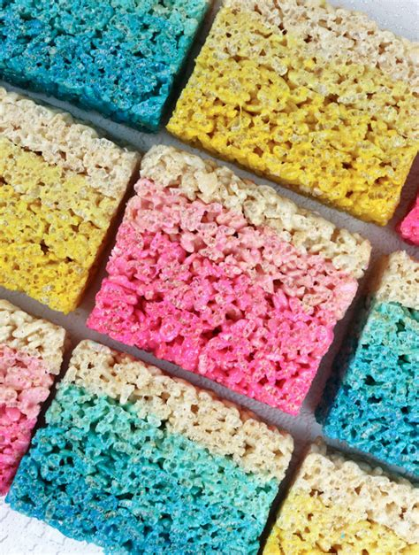 Baby Shower Rice Crispy Treats by Pink Rice Krispie Treats For Baby Shower