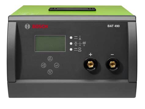 Battere Charger 12 24v Bosch Bat 490 chargeur batterie bat 490 12v 24v de bosch informations et documentations equip