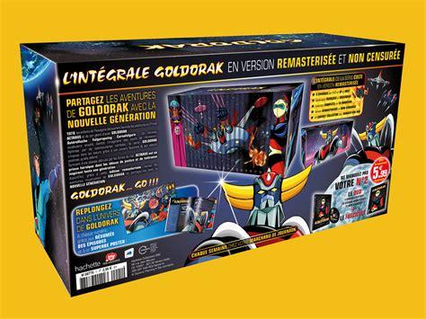 L Collectors by Collection L Int 233 Grale Goldorak Hachette Editions The Big Yellow Directeur Artistique