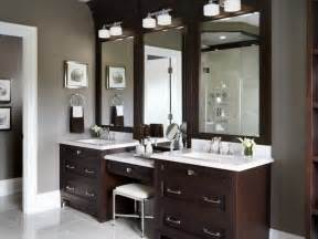 bathroom vanity with makeup area home design and