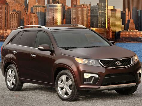 Kia Sorento Recalls Kia Recalls 2007 And 2008 Sorento Suvs For Airbag Fix