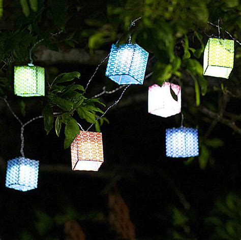 solar light strands eco items for sustainable home decor