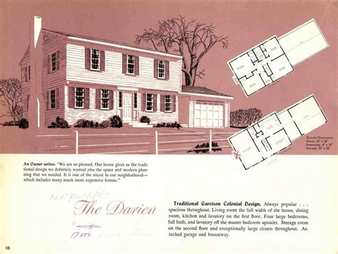 garrison colonial house plans hodgson houses the first pre fabricated homes in the u s