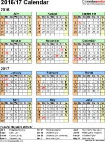 Babson Academic Calendar Academic Calendar Blank 2016 2017 Calendar Template 2016