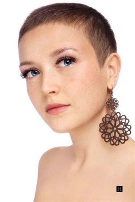 boyish ultrashort very very short haircuts for women