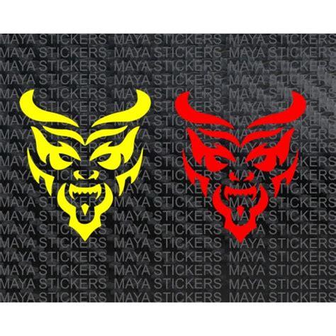 Tribal Sticker Design Decals by Devil Sticker In Tribal Design