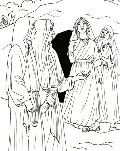 resurrection coloring pages resurrection coloring page