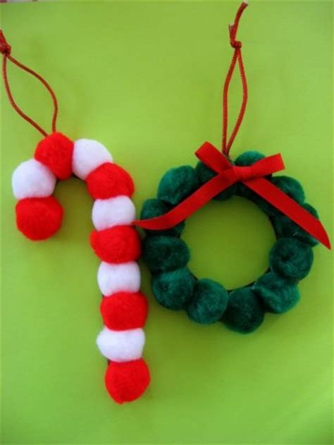 pom pom christmas ornaments fun family crafts