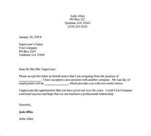 Resignation Letter Format For Trust Resignation Letter Templates 26 Free Word Excel Pdf Documents Free Premium