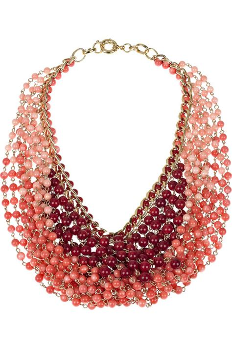 multi strand d 233 grad 233 necklace 171 jewelry trends