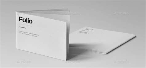 15 Essential Minimal Brochure Templates Photography Portfolio Template Indesign Free