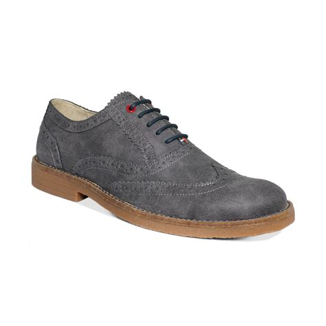 hilfiger oxford shoes hilfiger stanford2 oxford shoes in gray for