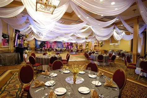 W Drapings: Custom Event Draping, Chiffon Ceiling