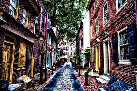 elfreth s alley philadelphia s elfreth s alley photograph by bill cannon