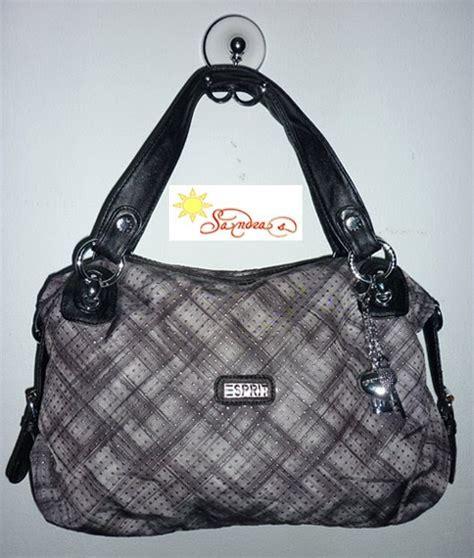 Tas Esprit Wanita macam macam tas esprit e2002 silver black rp 295 000