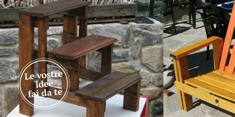 idee d arredo legno e ceramica di recupero idee d arredo fai da te