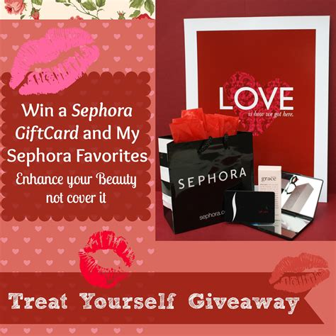 You Could Win 100 Gift Certificate To Sephora by Enter To Win A 100 Sephora Gift Card Food
