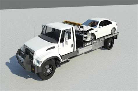 tow truck bed wrecker truck bed images