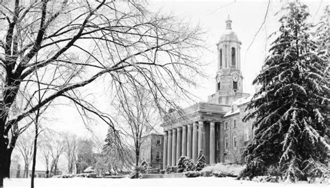 snow blankets the university park cus penn state university pin by penn state on winter wonderland pinterest